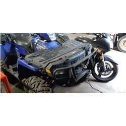 2007 POLARIS SPORTMAN X2 500, GAS, AUTOMATIC, VIN#4XATN50A47A201299, 2641KMS, ON DEMAND 4 WHEEL