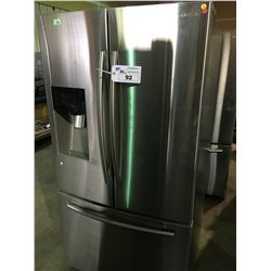 SAMSUNG RF263BEAESR STAINLESS 3 DOOR, FRENCH DOOR REFRIGERATOR WITH WATER & ICE MAKER