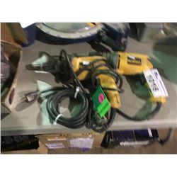 2 DEWALT ELECTRIC DRYWALL SCREWGUNS