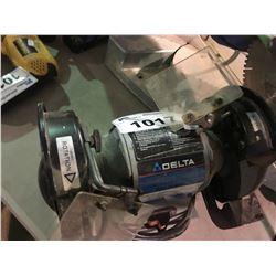 DELTA 23-6400 DUAL WHEEL BENCH GRINDER