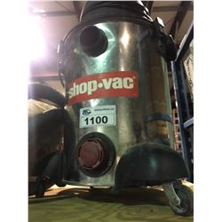 STAINLESS SHOP-VAC WITH HOSE AND ATTACHMENTS