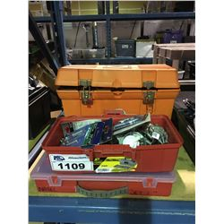 TOOLBOX WITH CONTENTS & HARDWARE