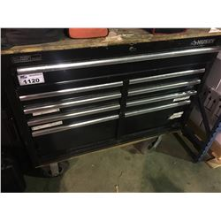 HUSKY 9 DRAWER MOBILE TOOL BOX AND CONTENTS