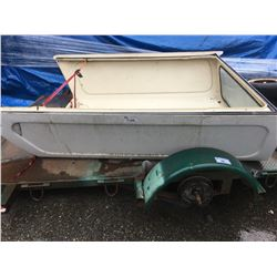 WHITE FORD TRUCK CANOPY