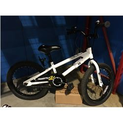 FREESTYLE CHILDS BICYCLE - SINGLE SPEED BLACK & WHITE