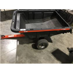 AGRI-FAB SMART CART LAWN TRACTOR TRAILER