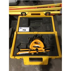 BERGER INSTRUMENTS SURVEYORS LEVEL WITH TRI-POD & CASE