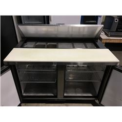 TRUE COMMERCIAL REFRIGERATED PREP STATION