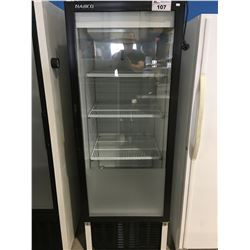 HABCO COMMERCIAL SINGLE GLASS FRONT DISPLAY COOLER