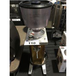 BREVETTATO COMMERCIAL COFFEE GRINDER (COFFEE BEAN RECEPTACLE BROKEN)