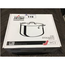 ALL-CLAD 8 QUART STOCK POT WITH LID