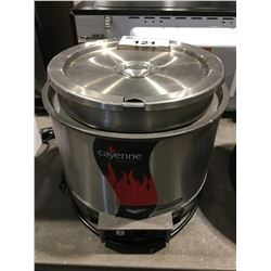 VOLLRATH ROUND HEAT N SERVE SOUP WARMER WITH POT & LID