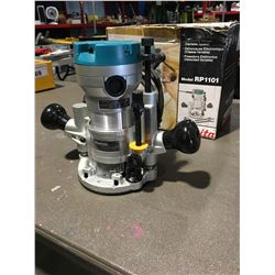 MAKITA MODEL RP1101 ELECTRONIC ROUTER