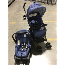 EVENFLO CITY TRAVEL SYSTEM CHILDS STOLLER & INFANT CARSEAT SET