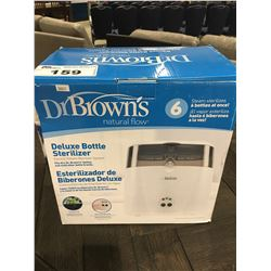 DR BROWNS NATURAL FLOW DELUXE BOTTLE STERILIZER