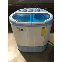 PYLE PURE CLEAN TWIN TUB WASHING MACHINE
