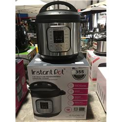 INSTANT POT 7 IN 1 MULTI USE PROGRAMABLE PRESSURE COOKER