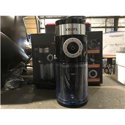 KRUPS ADJUSTABLE BURR COFFEE GRINDER