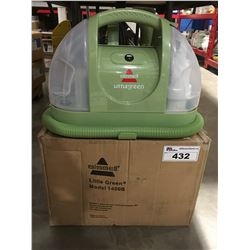 BISSELL LITTLE GREEN CLEANING MACHINE