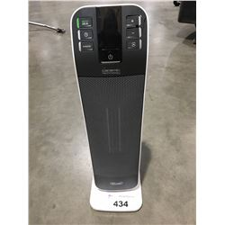 DELONGHI CERAMIC TECHNOLOGY OSCILLATING ELECTRIC HEATER WITH REMOTE (WHITE)
