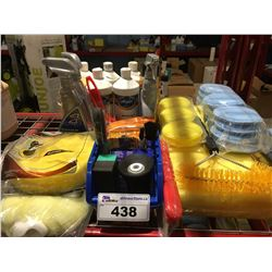 GROUP LOT OF ASST'D PROFESSIONAL VEHICLE DETAILING PRODUCTS (B)