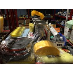 GROUP LOT OF ASST'D PROFESSIONAL VEHICLE DETAILING PRODUCTS (C)