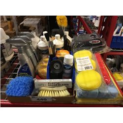 GROUP LOT OF ASST'D PROFESSIONAL VEHICLE DETAILING PRODUCTS (D)