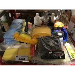 GROUP LOT OF ASST'D PROFESSIONAL VEHICLE DETAILING PRODUCTS (H)