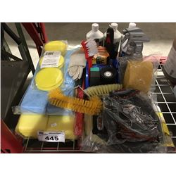 GROUP LOT OF ASST'D PROFESSIONAL VEHICLE DETAILING PRODUCTS (I)