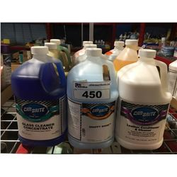 9 - 1 GAL CONTAINERS OF ASST'D PROFESSIONAL AUTO DETAILING CLEANERS (B)