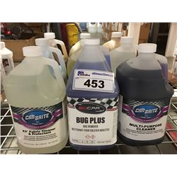 9 - 1 GAL CONTAINERS OF ASST'D PROFESSIONAL AUTO DETAILING CLEANERS (E)
