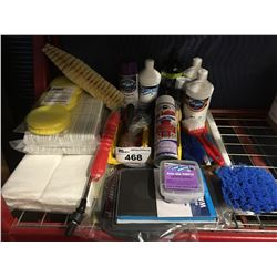 GROUP OF ASST'D PROFESSIONAL VEHICLE DETAILING PRODUCTS (H)