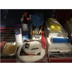 GROUP OF ASST'D PROFESSIONAL VEHICLE DETAILING PRODUCTS (J)