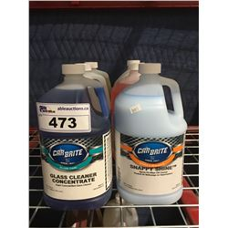 6 - 1 GAL CONTAINERS OF ASST'D PROFESSIONAL AUTO DETAILING CLEANERS (A)
