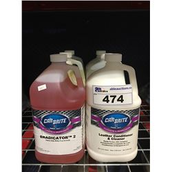 6 - 1 GAL CONTAINERS OF ASST'D PROFESSIONAL AUTO DETAILING CLEANERS (B)