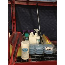 GROUP OF ASST'D PROFESSIONAL AUTO DETAILING PRODUCTS (B)