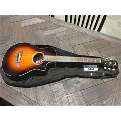YAMAHA APXT2 PERFORMANCE ELECTRIC ACOUSTIC GUITAR WITH SOFT CASE