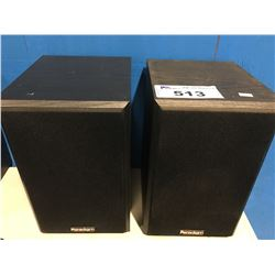 PAIR OF PARADIGM HOME AUDIO SPEAKERS