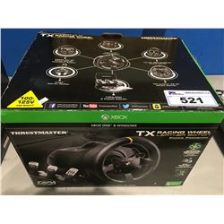 THRUST MASTER TX RACING WHEEL LEATHER EDITION FOR XBOX 1 & WINDOWS