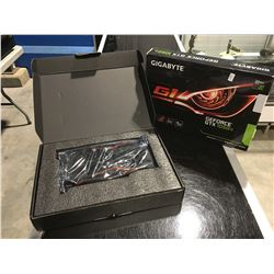 GIGABYTE GEFORCE GTX 1050 TI GAME READY COOLING SYSTEM