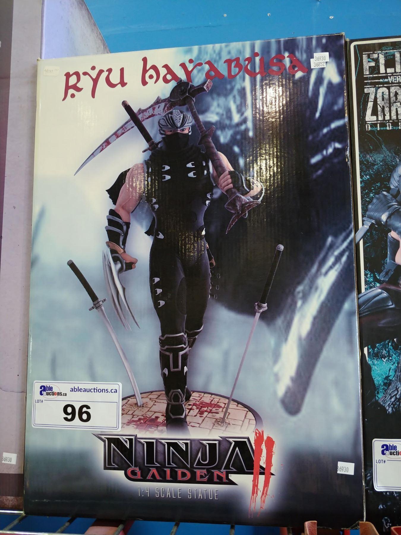 Ninja Gaiden Ryu Hayabusa 1 4 Scale Statue