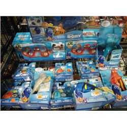 LOT OF DISNEY PIXAR FINDING DORY COLLECTIBLES
