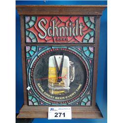 "SCHMIDT BEER ""SAME GREAT BEER EVERY TIME"" LIGHT-UP BEER SIGN"