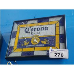 "CORONA EXTRA ""LA CERVEZA MAS FINA"" IMPORTED BEER FROM MEXICO LIGHT-UP BEER SIGN"