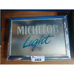 MICHELOB LIGHT BEER LIGHT-UP BEER SIGN