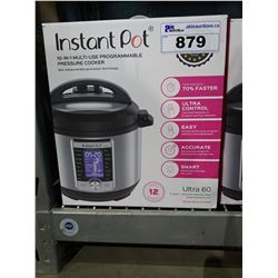 INSTANT POT ULTRA 60 6QT 10-IN-1 PROGRAMMABLE PRESSURE COOKER