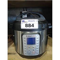 INSTANT POT DUO PLUS 6QT PROGRAMMABLE PRESSURE COOKER