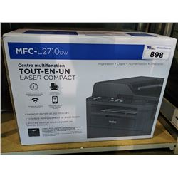 BROTHER MFC-L2710DW COMPACT LASER ALL-IN-ONE MULTIFUNCTION CENTRE