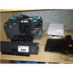 HP PRINTER, LOGITECH SPEAKER, SONY DVD PLAYER AND MORE