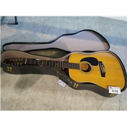 FENDER ACOUSTIC 12 STRING GUITAR